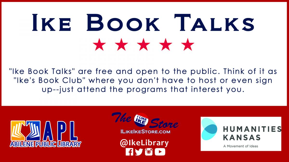 Ike Book Talks promo