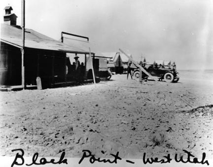 """Black Point - West Utah"" 1919 Transcontinental Motor Convoy."