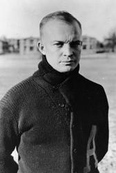 Dwight D. Eisenhower at Camp Meade, MD photo 71-203 U.S. Army - public domain