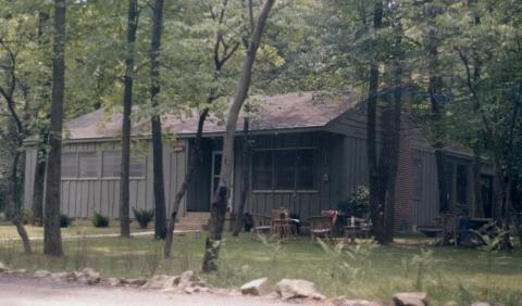 Cabin, Camp David, Maryland [67-302-2]