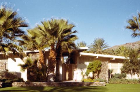 Eisenhower Winter Home at Eldorado Country Club, Indian Wells, California