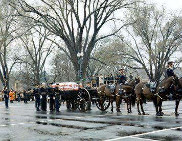 DDE funeral photo
