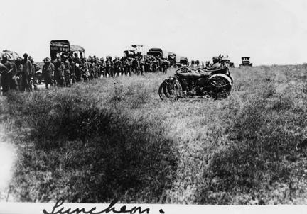 """Luncheon"" 1919 Transcontinental Motor Convoy."