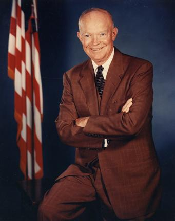 Dwight D. Eisenhower, June 1956