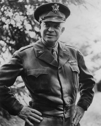 Dwight D. Eisenhower, 1943