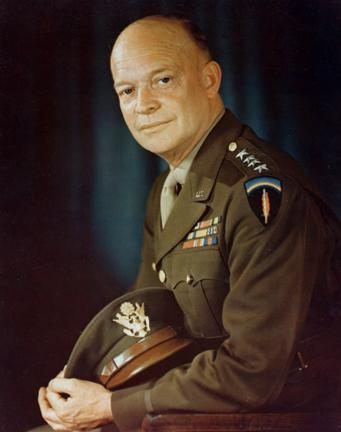 Dwight D. Eisenhower in 1944