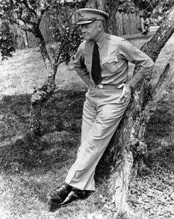 May 17, 1946 - Dwight D. Eisenhower at Kilauea Military Camp, Hawaii