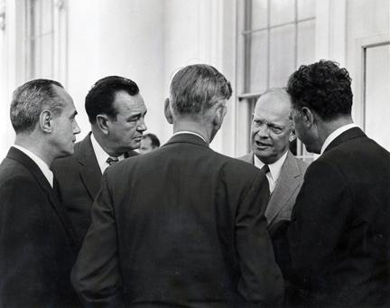 August 10, 1954 - Governors with Dwight D. Eisenhower