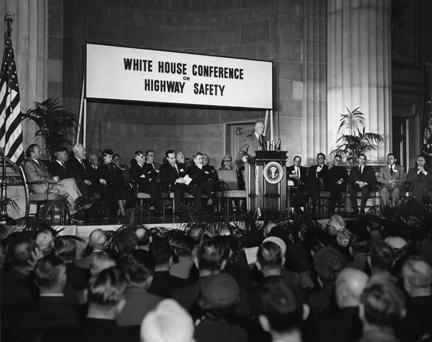 February 17, 1954 - White House Conference on Traffic Safety