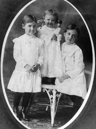 "Left to Right: Mamie, Eda Mae ""Buster"", and Eleanor"