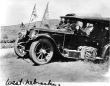 """West Nebraska"" 1919 Transcontinental Motor Convoy."