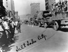 """Salt Lake City"" 1919 Transcontinental Motor Convoy."
