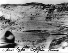 """Open type - copper mine"" 1919 Transcontinental Motor Convoy."