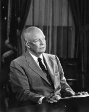 September 24, 1957 - Dwight D. Eisenhower has a special broadcast on the Little Rock situation [72-2433-9]