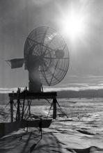 Antarctica - the atomic (nuclear) powered weather station at Byrd Station